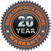 Bison Fencing 20 Year Warranty